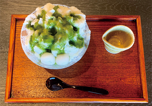 Shaved Ice Matcha syrup