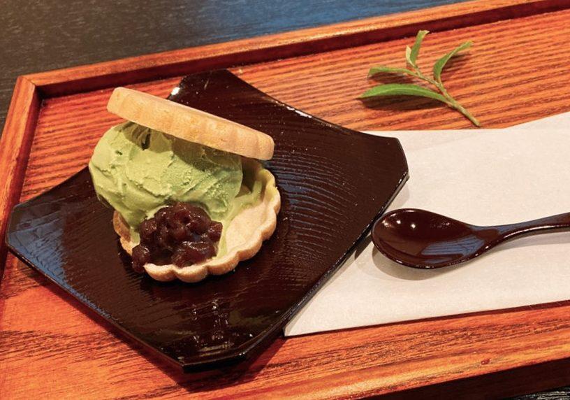 Match Ice Cream Monaka